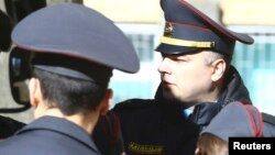 Беларусь полициясы (Көрнекі сурет).