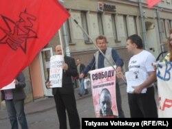 Пикет в Петербурге 15 сентября