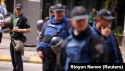 Policia maqedone, foto nga arkivi