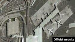 Аэропорт Кеннеди, Нью-Йорк. Фотография Google Earth.