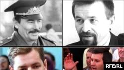 Юры Захаранка, Анатоль Красоўскі, Зьміцер Завадзкі, Віктар Ганчар