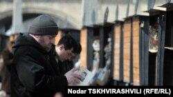 Лавка букиниста в Тбилиси