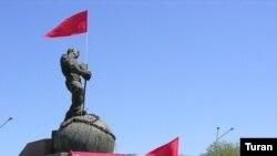 Azərbaycan kommunistlərinin 1 May nümayişi, Bakı, 2007