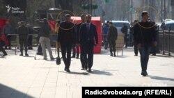 Супровід депутата Радикальної партії Сергія Рибалки