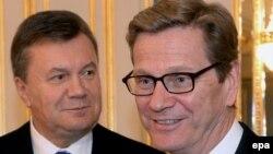 Гідо Вестервелле і Віктор Янукович