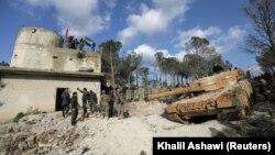 Forcat turke në rajonin Afrin të Sirisë, foto ilustruese nga arkivi