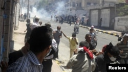 درگیریها در شهر تعز یمن