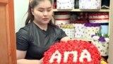 GRAB - A Bishkek Florist's Generosity Blossoms Amid The Pandemic