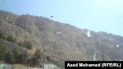 جبال من اقليم كردستان