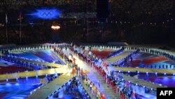 Британи -- 2012-чу шеран Олимпин ловзарш дIадерзоран церемони хилира Лондонерчу Олимпин стадионехь,12Марс2012