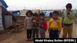 Սիրիացի փախստական երեխաներ