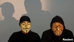 Члени українського хактивістського об'єднання RUH8