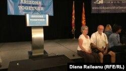 Printre susținătorii democraților la Phoenix
