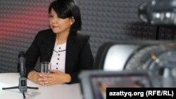 Толганай Умбеталиева, кандидат политических наук и генеральный директор Центральноазиатского фонда развития демократии.