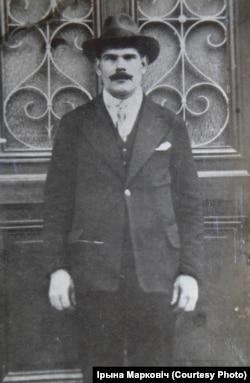Віктар Ждановіч у Францыі, 1930 год