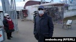 Мэдычная маска — атрыбут пакупнікоў на рынку