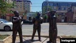 Новый памятник в городе Дербент