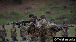 Vojne vježbe u Nagorno-Karabahu, studeni 2014.