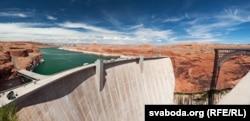 Запруда на возеры Паўэла ў Арызоне