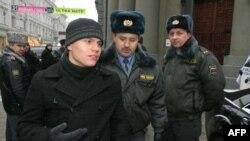 """Члены партии """"Яблоко"""" знакомы с милицией не понаслышке"""
