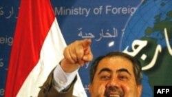 هوشيار زيباری، وزير امور خارجه عراق، می گوید : پادشاه اردن به عراق سفر خواهد کرد. (عکس از AFP)