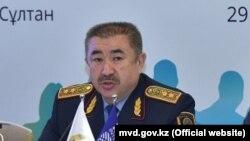 Министр внутренних дел Ерлан Тургумбаев.