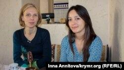 Сорина Сейтвелиев (слева), Эмине Эмирсалиева (справа)