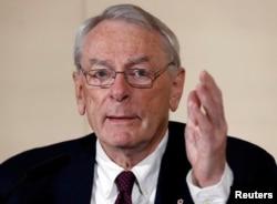 Дик Паунд, глава комиссии WADA, опубликовавшей доклад с обвинениями в адрес России