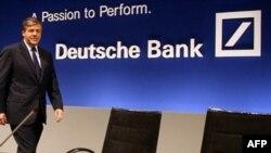 Глава Deutsche Bank Йозеф Акерман