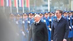 Sastanak Lukašenka i Vučića