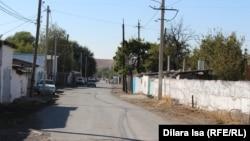 Улица в селе в Туркестанской области.