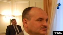 Anatol Golea, în anul 2000, purtător de cuvînt al Președinției