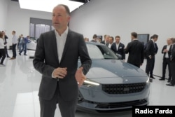 دانکر فارستر: پولستار برند خودروهای الکتریکی شرکت ولوو سوئد و جیلی چین است که محصولات خود را در چین تولید میکند.