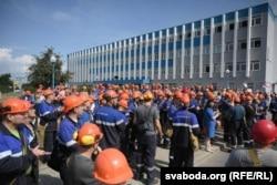 "Забастовка рабочих ""Гродно Азот"""