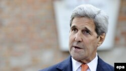 U.S. Secretary of State John Kerry in Vienna on July 9.