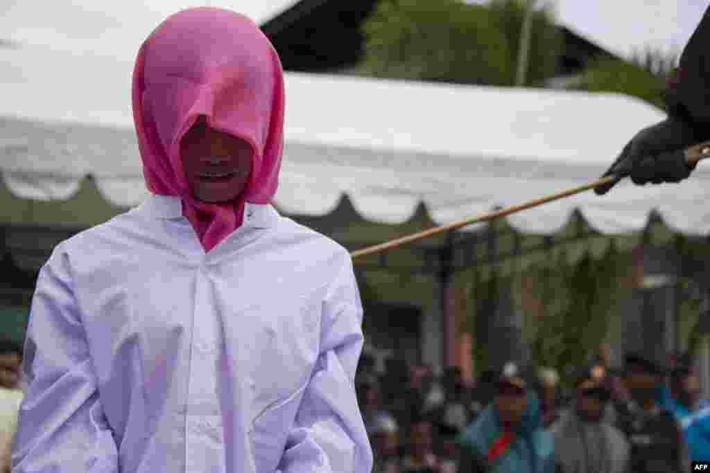 Ачех - единственная провинция в Индонезии, где введены законы шариата