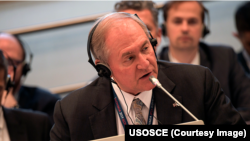 Руководитель миссии США в ОБСЕ, посол Джеймс Гилмор (архив)
