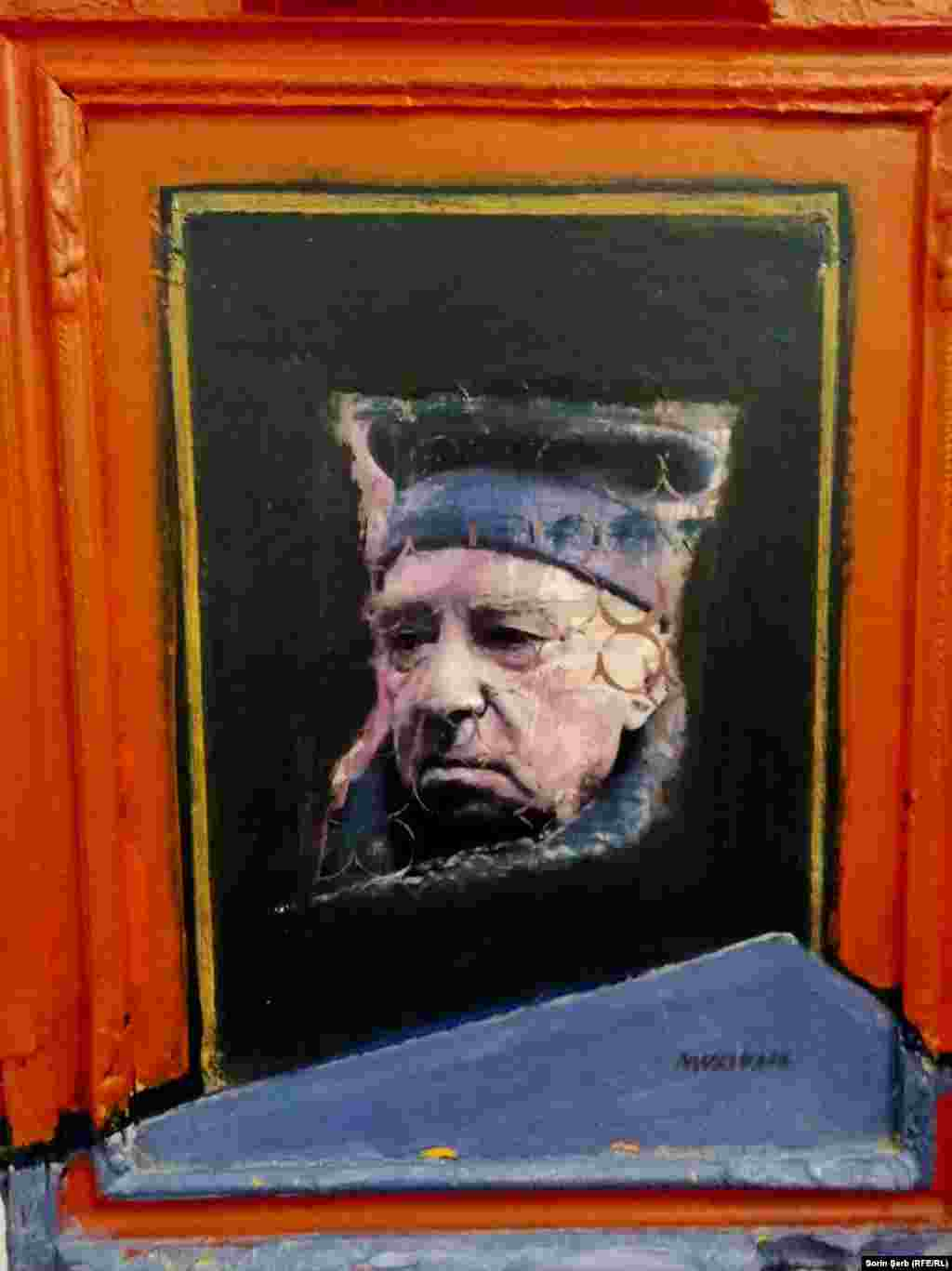 Murivale, Portretul lui Virgil Preda. Muzeul de Artă Modernă și Contemporană.