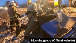 Авария в Симферопольской районе Крыма, 26 января 2018 года