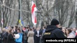 День Воли в Белоруссии, 25 марта 2015 года