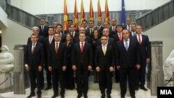 Kabineti i Qeverisë së Maqedonisë, para dorëheqjeve