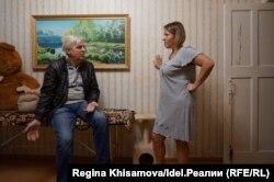 Александр Кишев и Елена Голякова