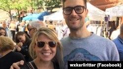 Фото зі сторінки телеведучої Карлі Ріттер у Facebook facebook.com/wxkarliritter