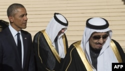 Президент Барак Обама жана Сауд Арабиянын жаңы падышасы Салман ибн Абдель Азиз Аль Сауд