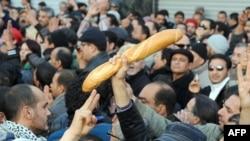 Протести во Тунис