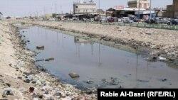 جانب من نهر العشار في البصرة