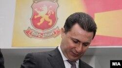 лидерот на ВМРО ДПМНЕ и премиер на РМ Никола Груевски