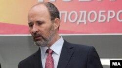 Скопскиот градоначалник Коце Трајановски