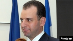 Armenia - Vigen Sargsian, the newly appointed chief of President Serzh Sarkisian's staff.