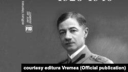 gen. Gheorghe Athanasescu, așa cum este înfățișat pe coperta jurnalului său, apărut la Editura Vremea